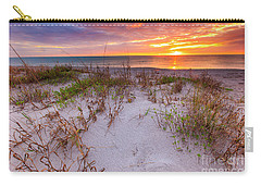 Sunset At Manisota Beach Carry-all Pouch