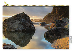Sunset At Moonstone Carry-all Pouch