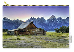Sunset At Mormon Row Carry-all Pouch