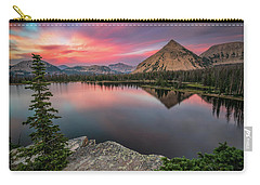 Sunset At Notch Lake Carry-all Pouch