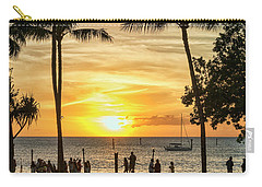 Sunset At Old Lahina Luau #2 Carry-all Pouch