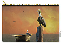 Sunset At Pelican Cove Carry-all Pouch
