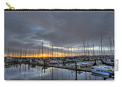 Sunset At Port Gardner Carry-all Pouch