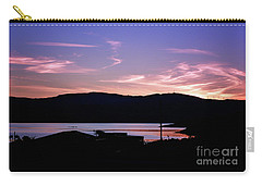 Sunset At Portavadie Scotland Carry-all Pouch by Lynn Bolt