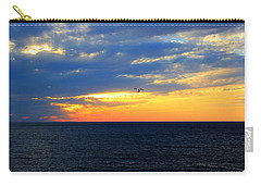 Carry-all Pouch featuring the photograph Sunset At Sail Away by Shelley Neff