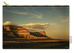 Sunset At Scotts Bluff National Monument Carry-all Pouch