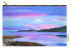 Sunset At Secret Cove Carry-all Pouch