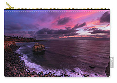 Sunset At Sunset Cliffs Carry-all Pouch