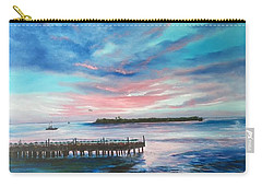 Sunset At Sunset Pier Tiki Bar Key West Carry-all Pouch