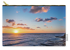 Sunset At Swami's Beach  Carry-all Pouch