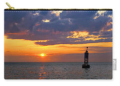 Sunset At The Bell Buoy Carry-all Pouch