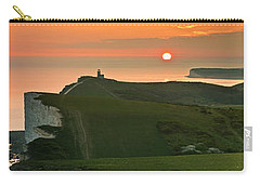 Sunset At The Belle Tout Lighthouse Carry-all Pouch