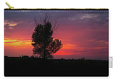 Sunset At The Danube Banks Carry-all Pouch