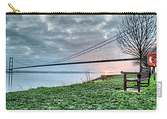 Sunset At The Humber Bridge Carry-all Pouch