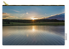 Sunset At The Mandelholz Dam, Harz Carry-all Pouch
