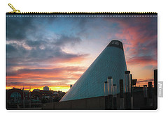 Sunset At The Museum Of Glass Carry-all Pouch