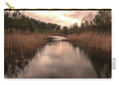 Sunset At The Sandpit In Maarn Carry-all Pouch