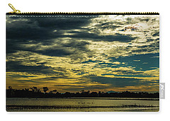 Sunset At The Wetlands Carry-all Pouch