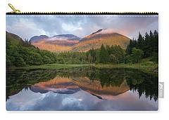 Sunset At Torren Lochan Carry-all Pouch