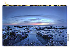 Sunset At Waddell Beach Carry-all Pouch