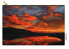 Sunset At Wallkill River National Wildlife Refuge Carry-all Pouch
