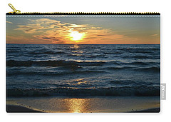 Sunset At Wasaga Beach June 21-2017  Carry-all Pouch