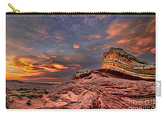 Sunset At White Pocket Carry-all Pouch