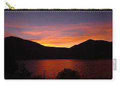 Sunset At Woodhead Campground  Carry-all Pouch