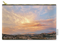 Sunset At Yosemite Carry-all Pouch