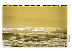 Sunset Beach Aglow  Carry-all Pouch