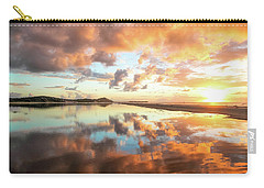 Sunset Beach Reflections Carry-all Pouch
