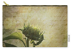 Carry-all Pouch featuring the photograph Sunset Beginnings by Melinda Ledsome