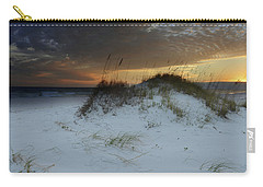 Sunset Behind The Sand Dune Carry-all Pouch