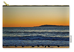 Sunset Bird Reflections Carry-all Pouch