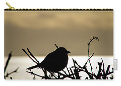 Sunset Bird Silhouette Carry-all Pouch