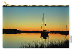 Sunset Bowens Island Carry-all Pouch