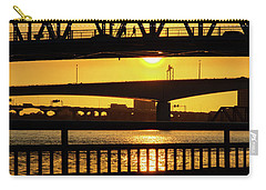 Sunset Bridge 2 Carry-all Pouch by Arthur Dodd