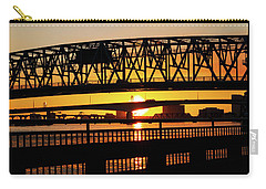 Sunset Bridge 4 Carry-all Pouch by Arthur Dodd