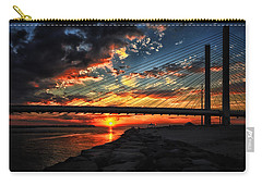 Sunset Bridge At Indian River Inlet Carry-all Pouch