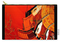 Sunset Building Carry-all Pouch by Thibault Toussaint