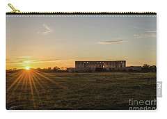 Sunset By Old Castle Ruin Carry-all Pouch