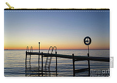 Sunset By The Old Bath Pier Carry-all Pouch