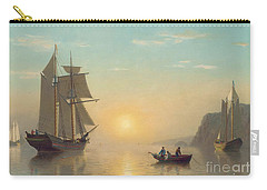 Sunset Calm In The Bay Of Fundy Carry-all Pouch by William Bradford