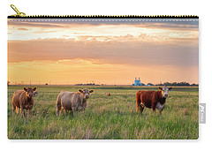 Sunset Cattle Carry-all Pouch