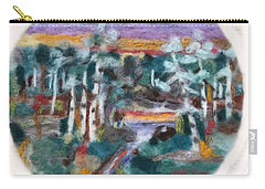 Sunset Carry-all Pouch by Christine Lathrop