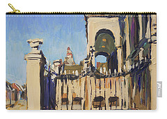 Sunset Cityhall Maastricht Entrance Carry-all Pouch