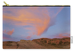 Sunset Clouds, Badlands Carry-all Pouch
