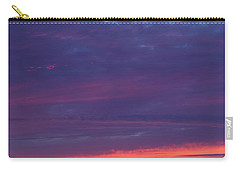 Sunset Clouds In Newquay, Uk Carry-all Pouch