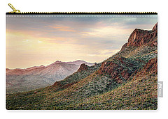Carry-all Pouch featuring the photograph Sunset by Elaine Malott