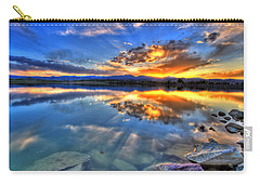 Sunset Explosion Carry-all Pouch by Scott Mahon